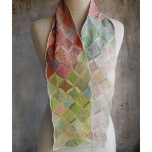 """Gorgeous Sophie Digard """"Mix and Match"""" Linen Scarf"""